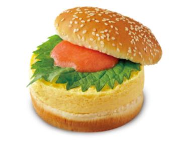 ドムドムバーガー明太厚焼きたまごバーガー