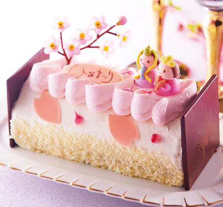シャトレーゼ ひなまつりケーキ