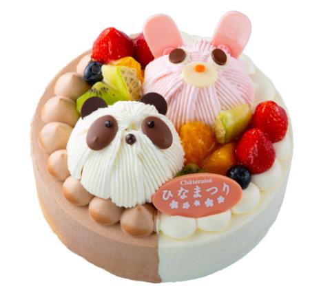 シャトレーゼ ひな祭りケーキ