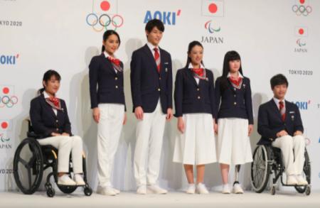 東京オリンピックユニフォーム