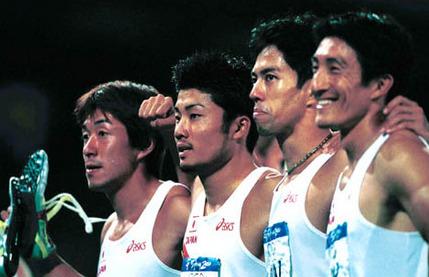 シドニーオリンピックリレー
